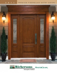 Richersons Fiberglass entry door